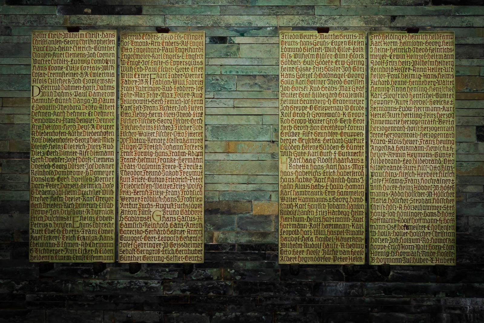 Namen overledenen