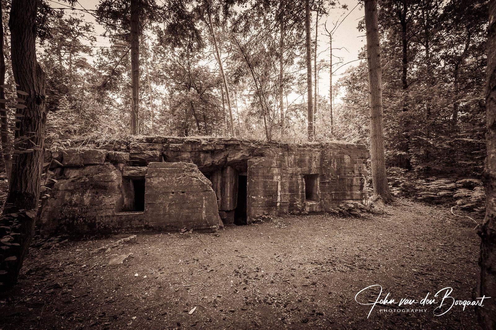 Duitse bunker Polygonwood