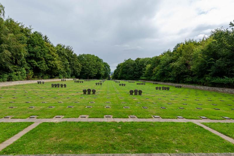 Overzicht over de gehele begraafplaats