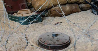 Slachtoffers landmijnen